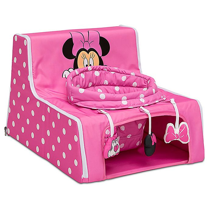 Alternate image 1 for Delta Children Sit 'N Play Minnie Mouse Portable Activity Seat in Pink