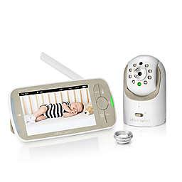 Infant Optics DXR-8 PRO 5-Inch Baby Monitor in White/Beige