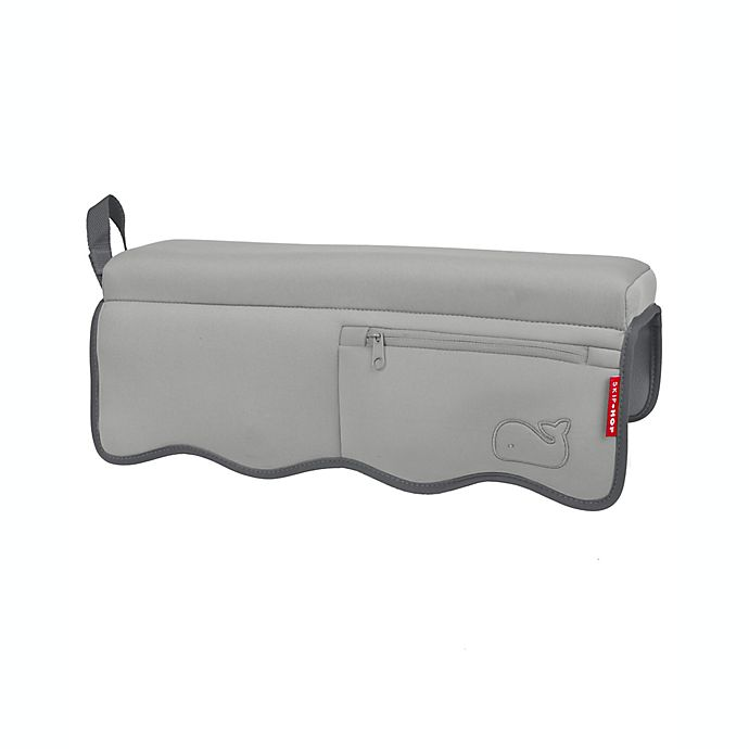Alternate image 1 for SKIP*HOP® Moby® Bath Elbow Rest in Grey