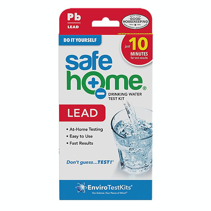 Alternate image 1 for Safe Home Lead in Water Test Kit