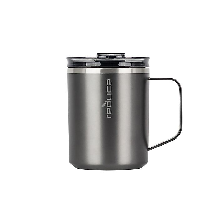 Alternate image 1 for Reduce® Hot1 14 oz. Stainless Steel Travel Mug in Charcoal