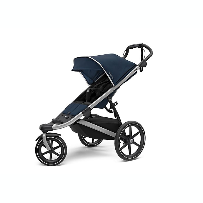 Alternate image 1 for Thule® Urban Glide 2 All-Terrian & Jogging Stroller in Blue/Silver
