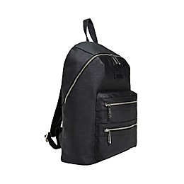 Honest® Coated Canvas City Backpack in Black