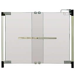 Qdos® Crystal® Hardware-Mount Safety Gate