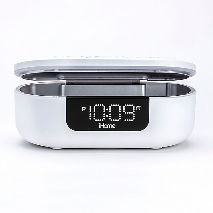 Alternate image 1 for iHome® UV-C Sanitizer with Bluetooth Speaker