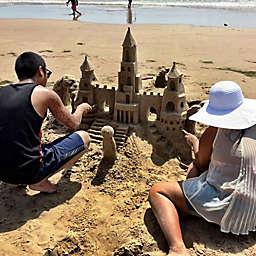 Sand Castle Lesson by Spur Experiences® <br />
