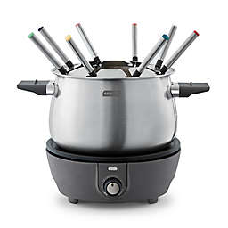 Dash® 3 qt. Deluxe Fondue Maker Set in Grey