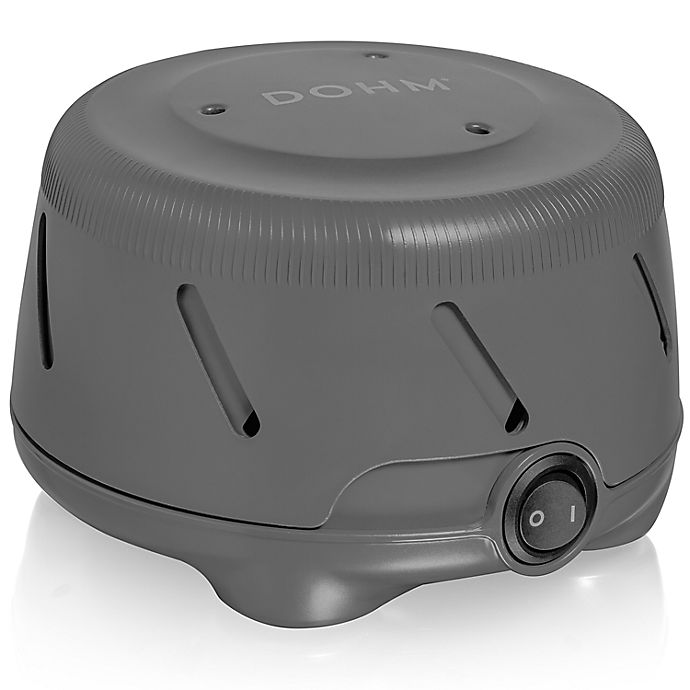 Alternate image 1 for Yogasleep™ Dohm Uno Sound Machine in Charcoal