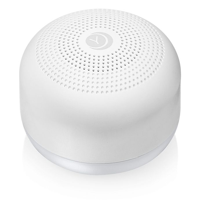 Alternate image 1 for Yogasleep™ Travel Mini Sound Machine with Night Light in White