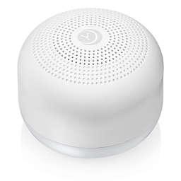 Yogasleep™ Travel Mini Sound Machine with Night Light in White