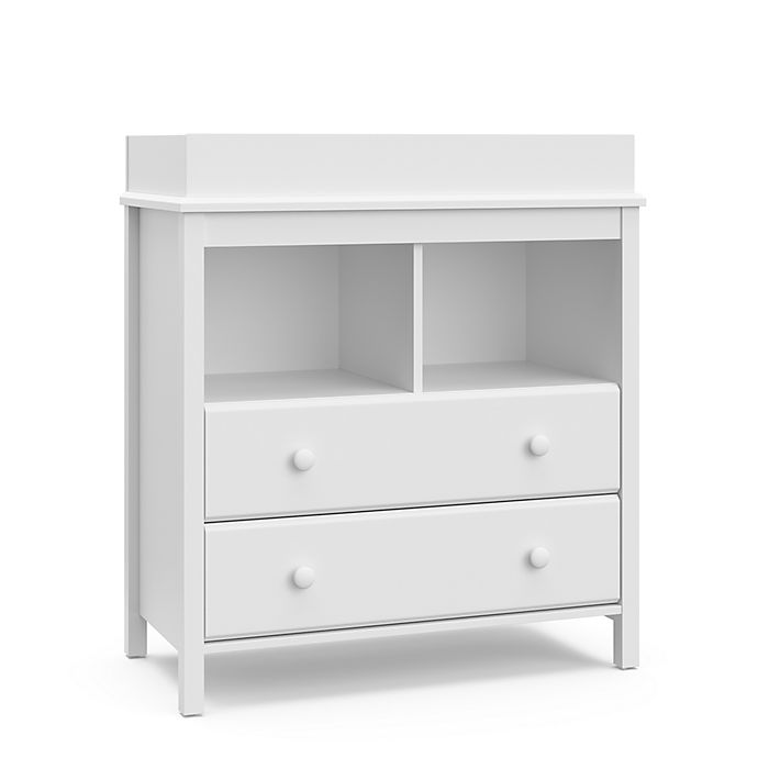 Alternate image 1 for Storkcraft™Alpine 2-Drawer Changing Dresser