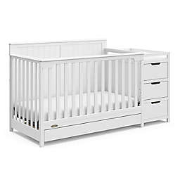 Graco® Hadley 4-in-1 Convertible Crib and Changer