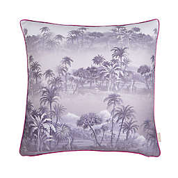 Ted Baker London Hibiscus 20-Inch Square Throw Pillow in Grey