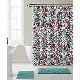 VCNY Home Sana Westin Damask Shower Curtain