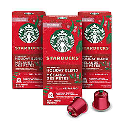 Starbucks® by Nespresso® Holiday Blend Coffee Capsules 30-Count