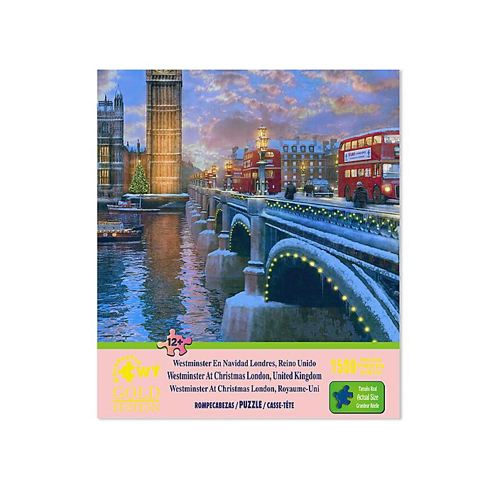 Alternate image 1 for Westminster At Christmas 1500-Piece Jigsaw Puzzle