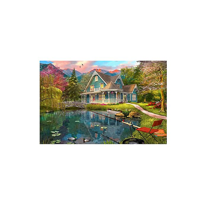 Alternate image 1 for 1,500-Piece The Fishing Retreat Jigsaw Puzzle