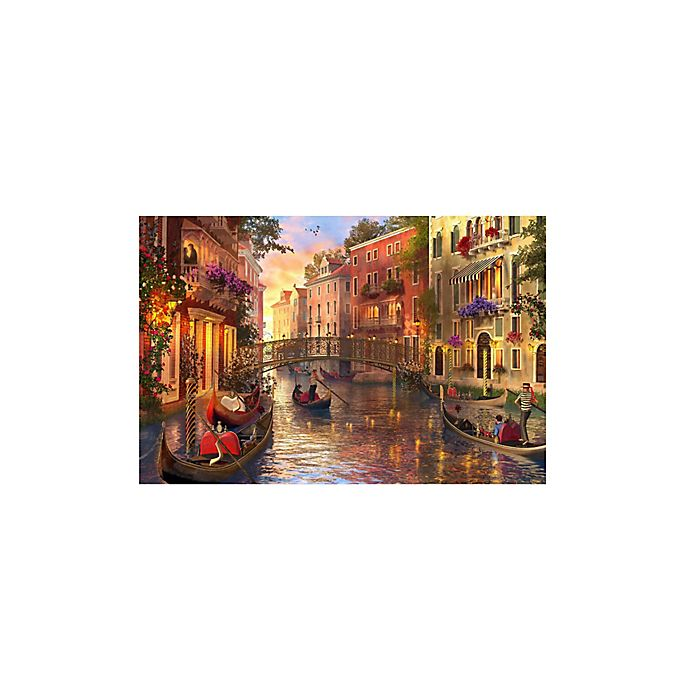 Alternate image 1 for 1,500-Piece Sunset in Venice Jigsaw Puzzle