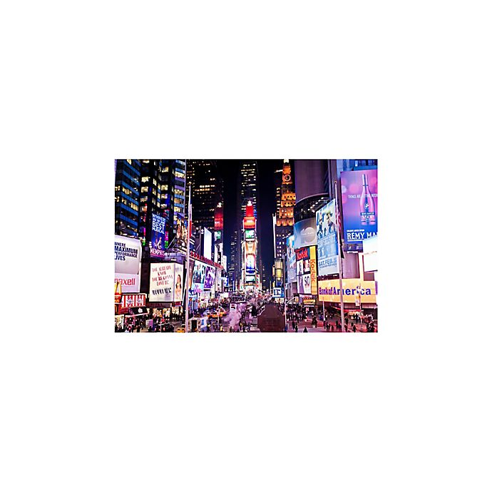 Alternate image 1 for 1,500-Piece Evening on the Time Square New York Jigsaw Puzzle