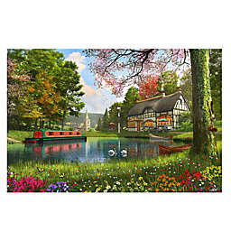 The Valley Cottage 1000-Piece Jigsaw Puzzle
