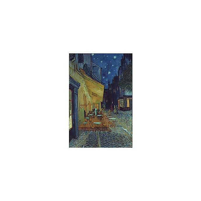 Alternate image 1 for 1,000-Piece The Cafe Terrace at Night Jigsaw Puzzle