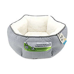 Hexagon Pet Bed in Silver<br />