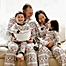 Part of the Burt's Bees Baby® Bold Fair Isle Organic Cotton Holiday Family Jammies Collection