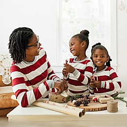 Burt's Bees Baby® Rugby Stripe Organic Cotton Holiday Family Jammies Collection