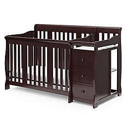 Storkcraft™ Portofino 4-in-1 Convertible Crib and Changer in Espresso