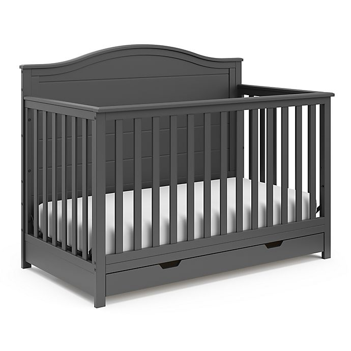 Alternate image 1 for Storkcraft™ Moss 4-in-1 Crib with Drawer