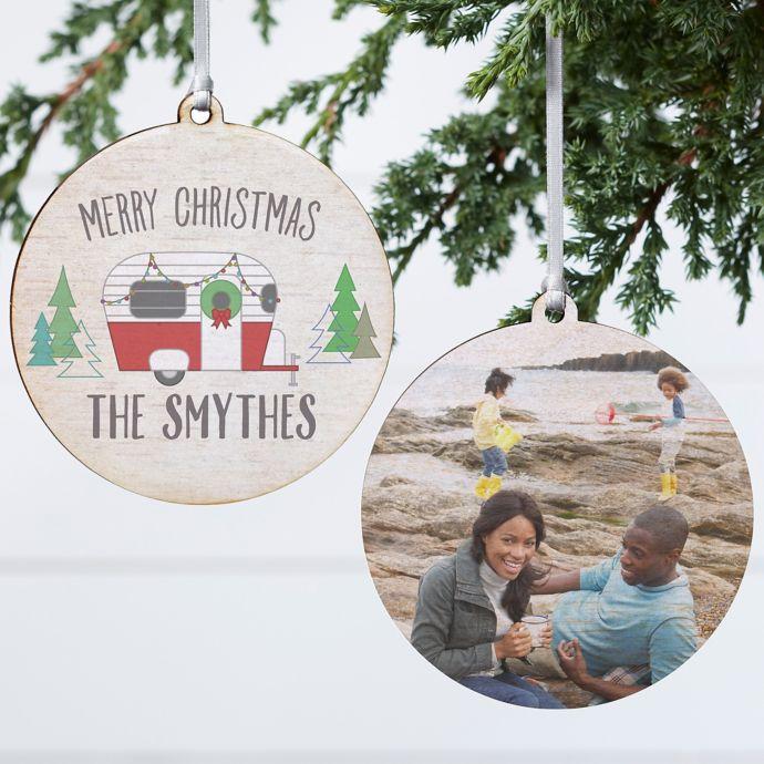 Travel Christmas Tree Ornaments