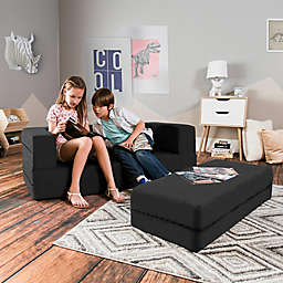 Jaxx® Zipline Big Kids Modular Sofa with Ottoman