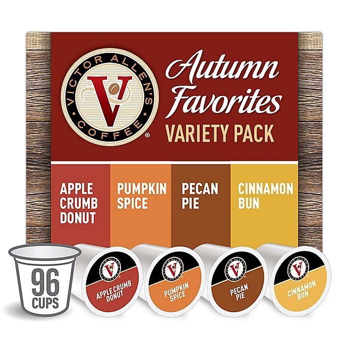 Alternate image 1 for Victor Allen® Autumn Variety Pack Coffee Pods for Single Serve Coffee Makers 96-Count