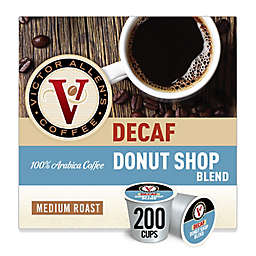 Victor Allen® Decaf Donut Shop Blend Coffee Pods for Single Serve Coffee Makers 200-Count
