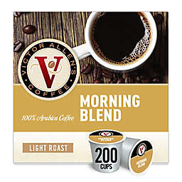 Victor Allen® Morning Blend Coffee Pods for Single Serve Coffee Makers 200-Count