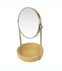 Espejo de tocador de madera Haven™ Eulo