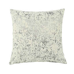 O&O by Olivia & Oliver™ Assisi Square Throw Pillow in Silver