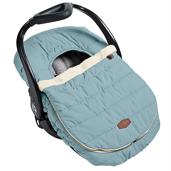 Alternate image 1 for JJ Cole® Car Seat Cover in Slate Grey