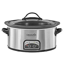 Crock-Pot Easy Clean Programmable Slow Cooker in Stainless Steel