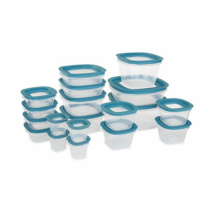 Alternate image 1 for Rubbermaid® Flex & Seal™ 38-Piece Food Storage Set with Easy Find Lids