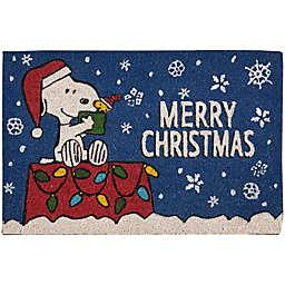 "Peanuts™ Christmas 18"" x 28"" Coir Door Mat"