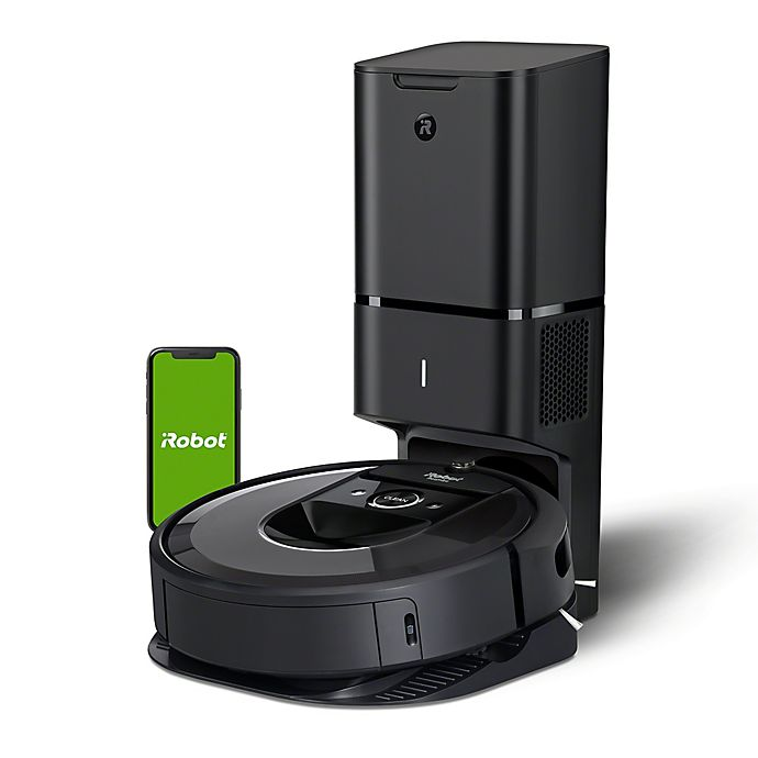 Alternate image 1 for iRobot® Roomba® i7+ (7550) Wi-Fi Connected Robot Vacuum with Automatic Dirt Disposal