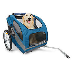 HoundAbout™ Classic Dual Front Door Bicycle Pet Trailer