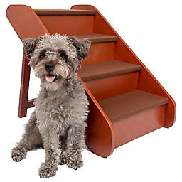 PupSTEP® Wooden Pet Stairs in Brown