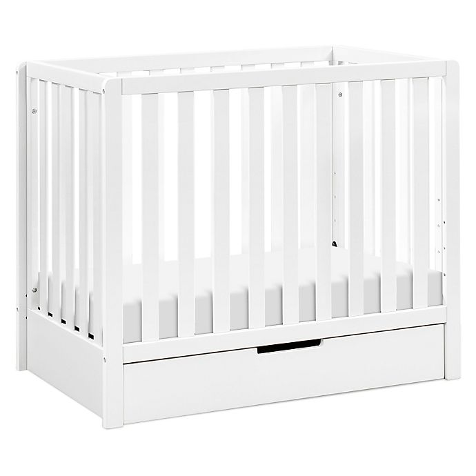 Alternate image 1 for carter's® by DaVinci® Colby 4-in-1 Convertible Mini Crib with Trundle