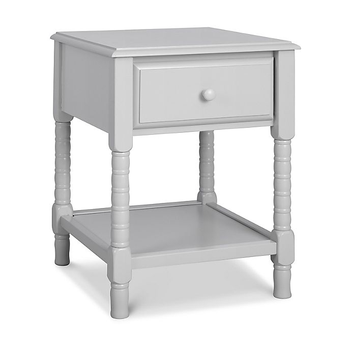 Alternate image 1 for Jenny Lind Spindle Nightstand in Fog Gray