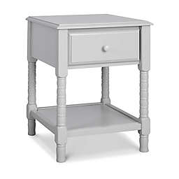 Jenny Lind Spindle Nightstand in Fog Gray