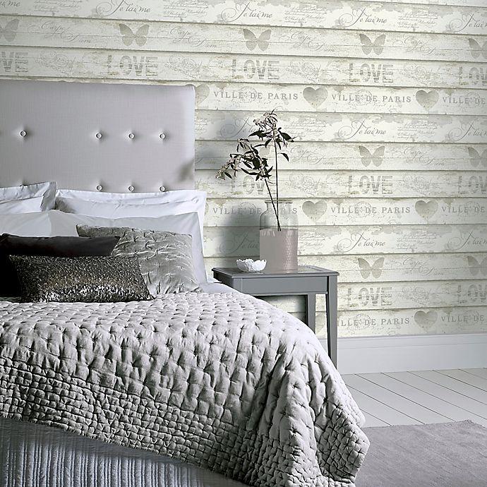 Alternate image 1 for Arthouse Shabby Chic Wood Wallpaper in Neutral