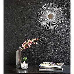 Arthouse Sequin Sparkle Wallpaper in Black