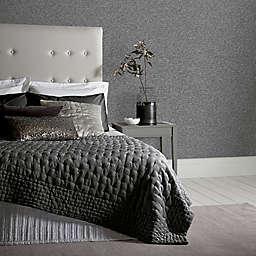 Arthouse Calico Plain Textured Wallpaper in Gunmetal